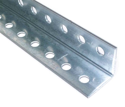 Punched Aluminum Angle For Garage Doors